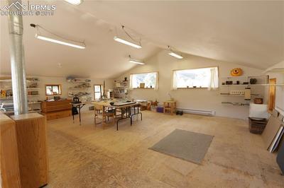 Studio above garage/workshop