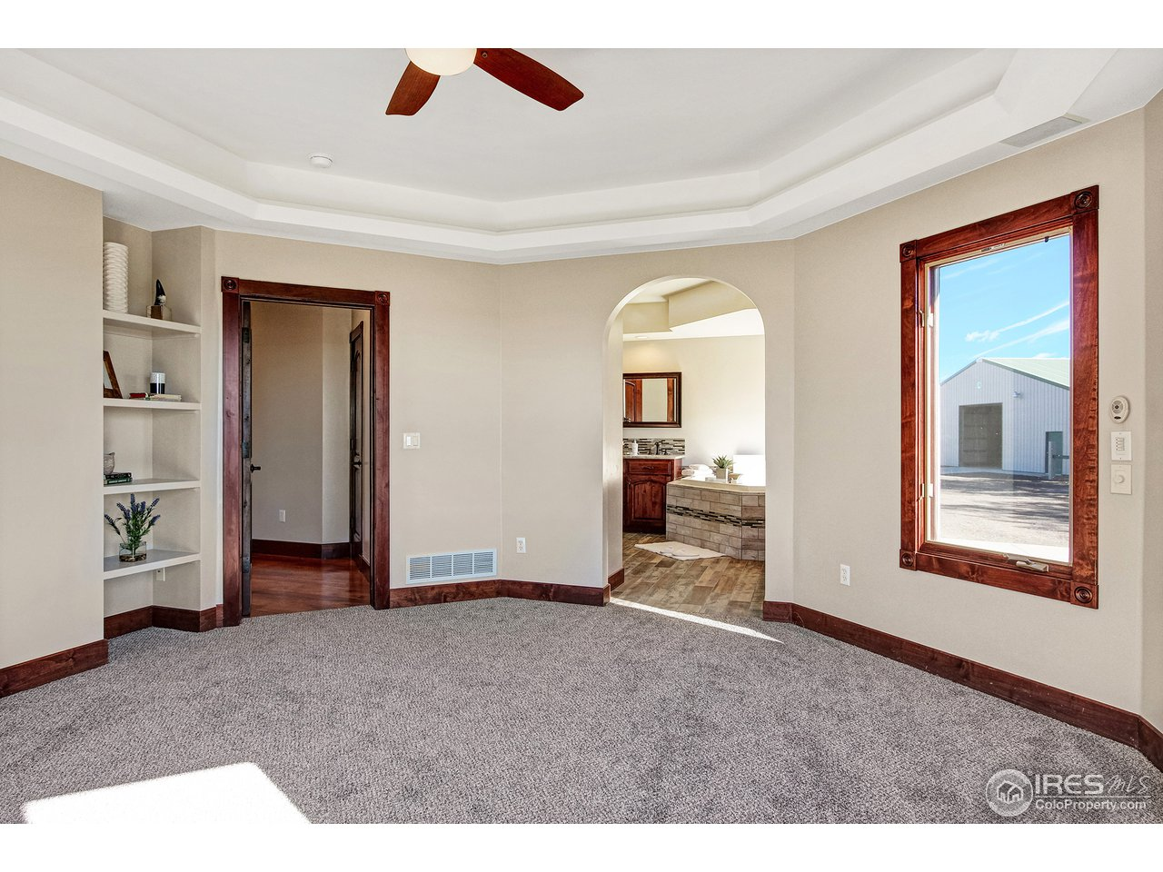 Master Bedroom with Walkout Patio