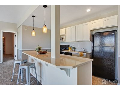 Updated Basement Kitchen