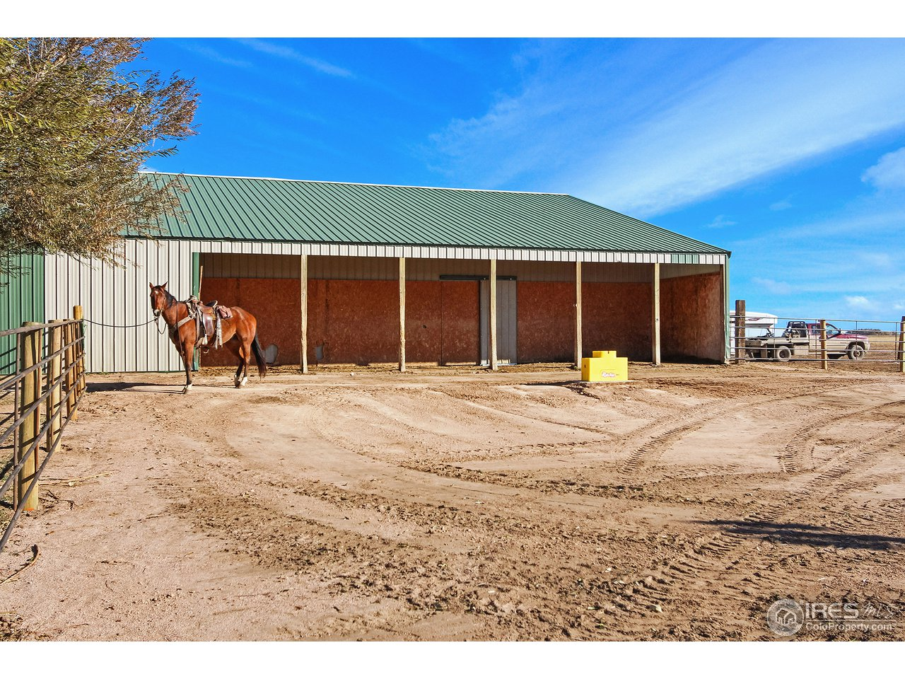 Solid Barn with Auto Waterers