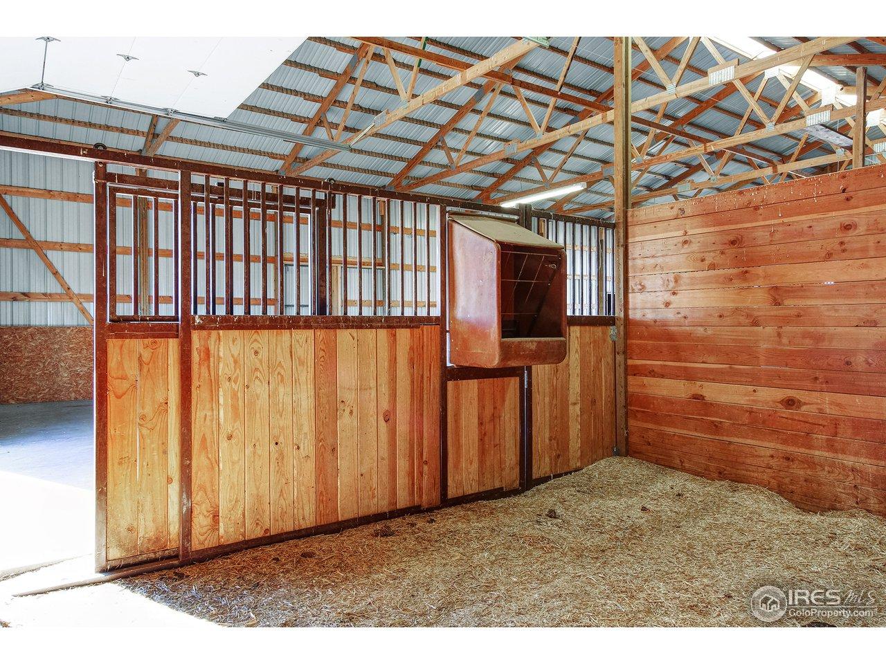 3 Horse Stalls