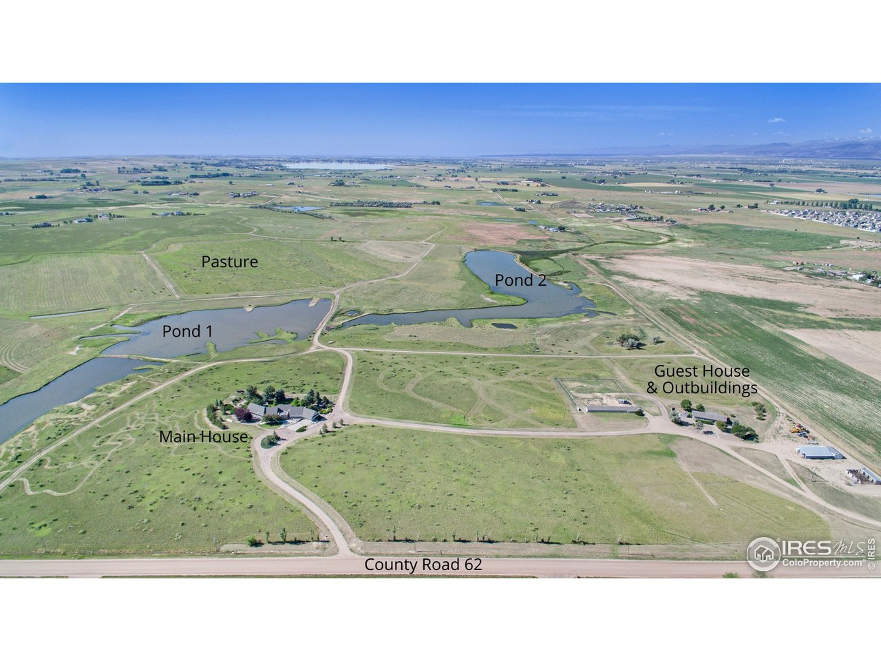 2 Ponds Located on the Property. Totally 23 Acres