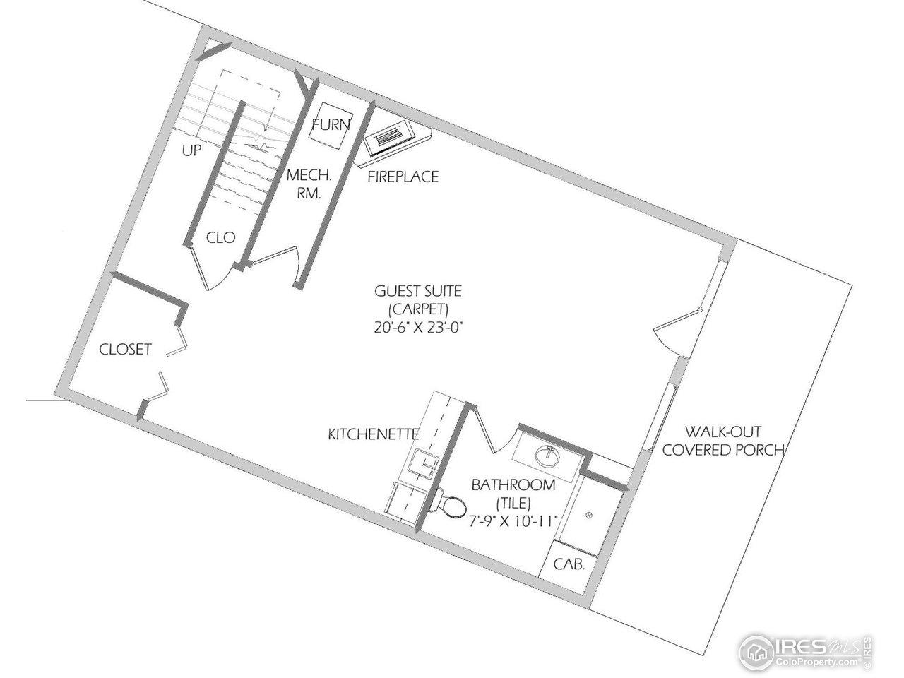 Lower Level Floorplan