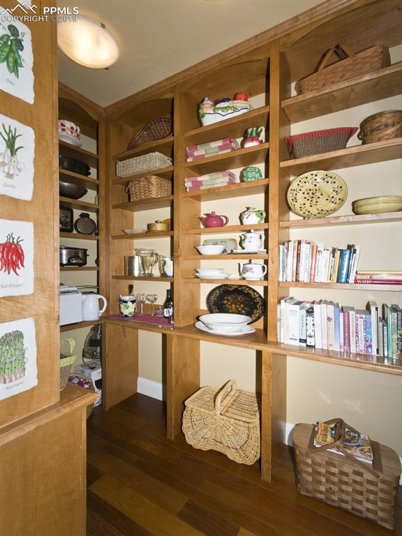 Wow! What a pantry!
