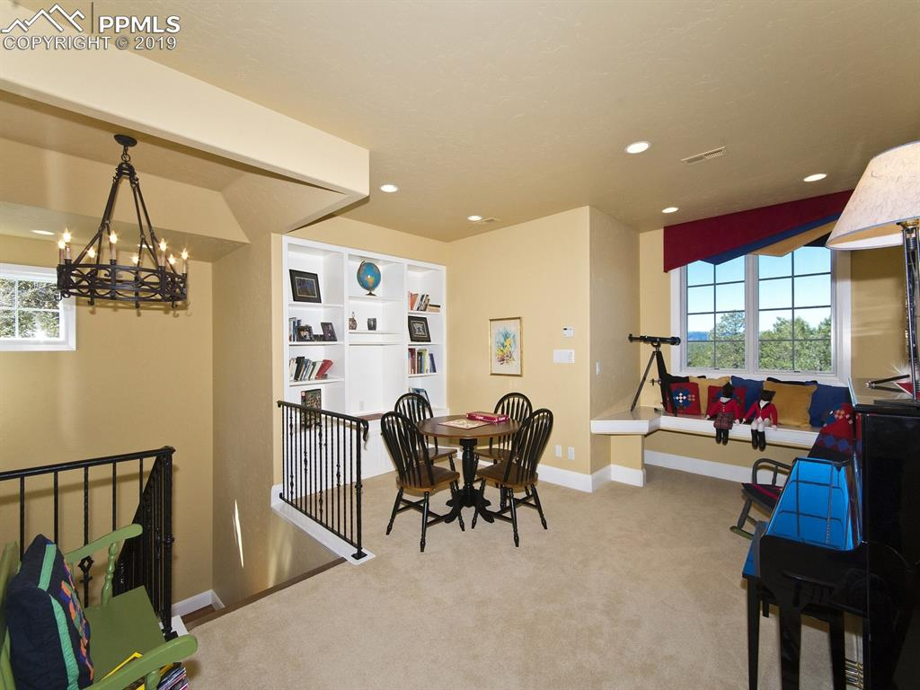 Upper loft - ideal for games or study