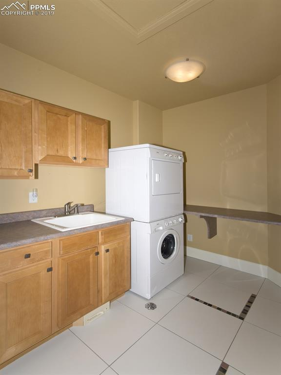 One of THREE Laundry Rooms (one per level)