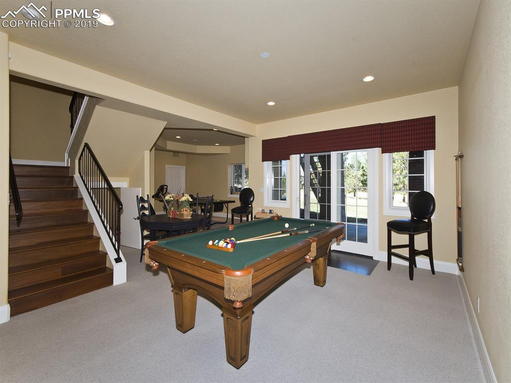 Walk out Basement with TWO game areas