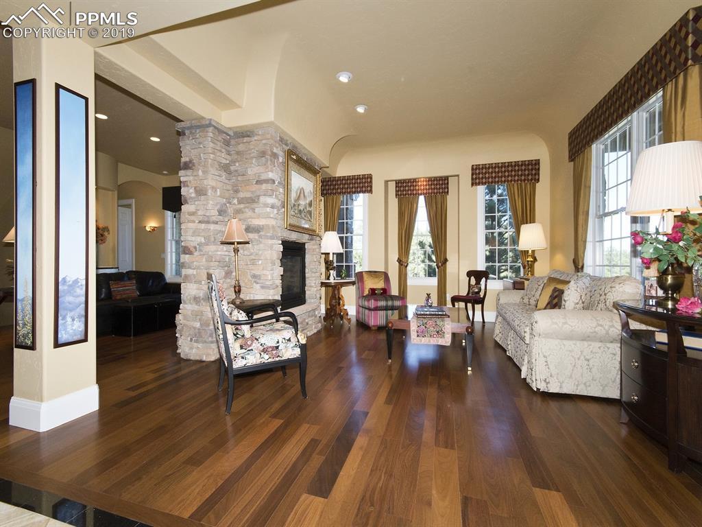 Formal side of Great Room - such elegance!