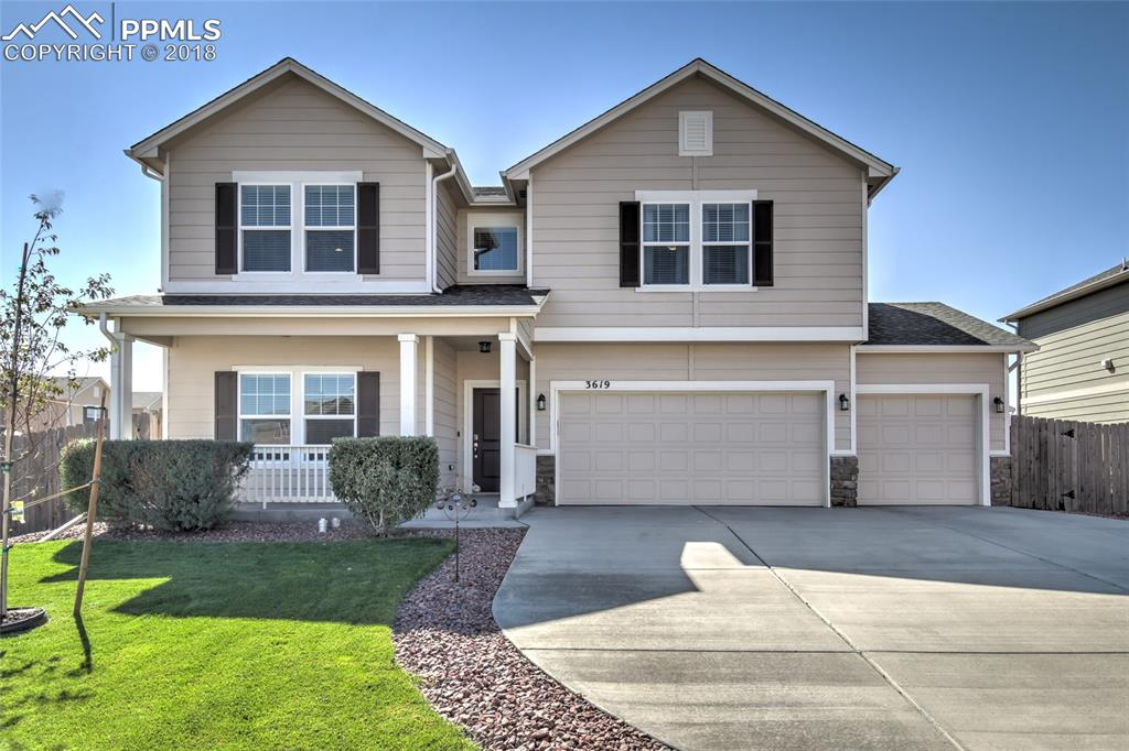 Welcome home!  Just what you've pictured!  Corner lot in a great location!
