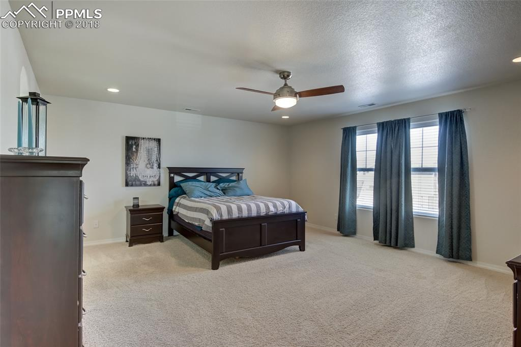 Master Bedroom with adjoining 5-piece bathroom suite