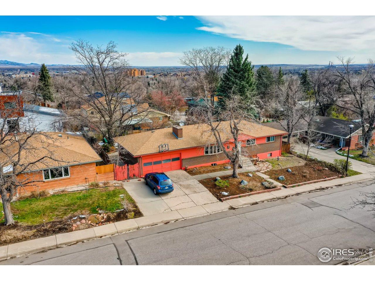 Amazing location in the heart of one of Boulder's best neighborhoods!
