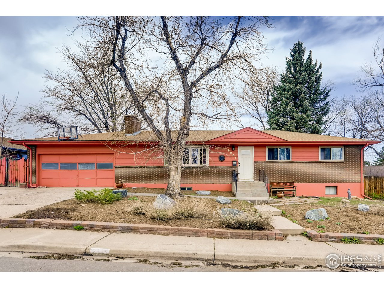 This home is in need of a complete & total remodel.