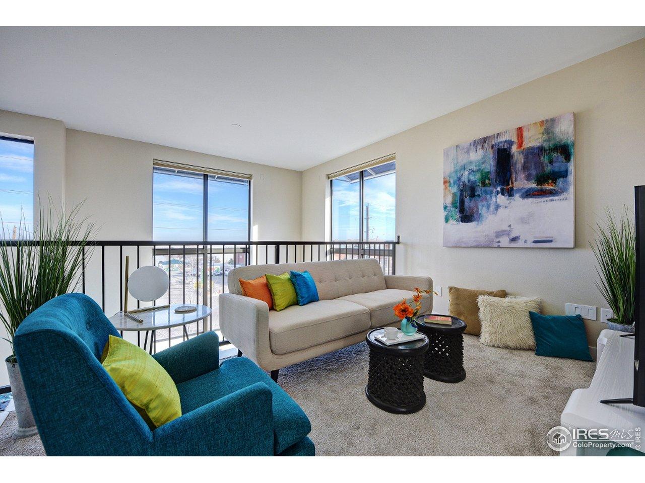 Upper living area/loft