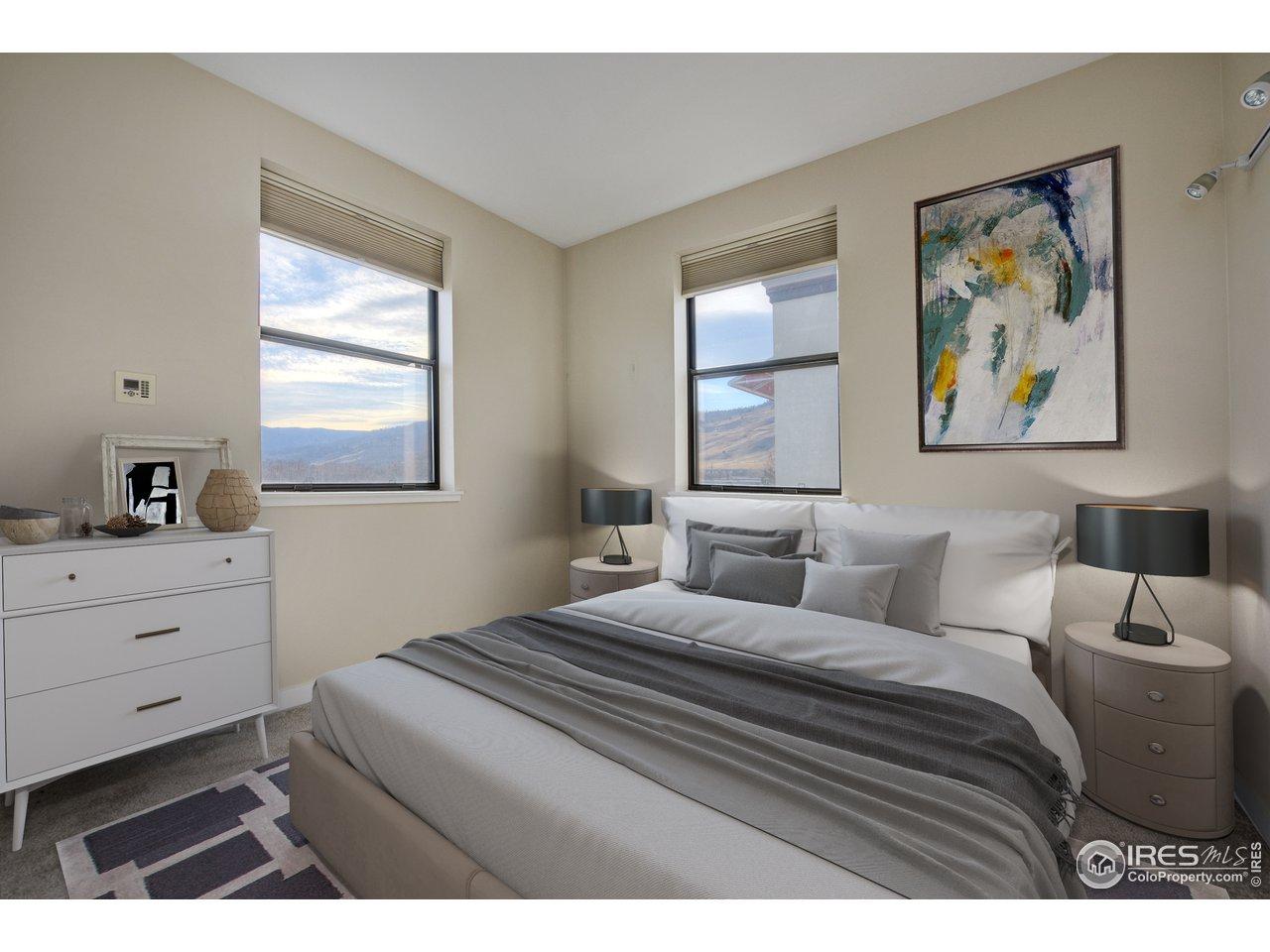 Master Bedroom with Flatiron Views