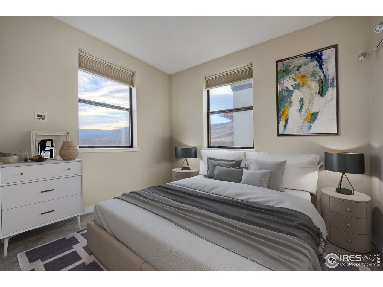 Master Suite with Foothill views!