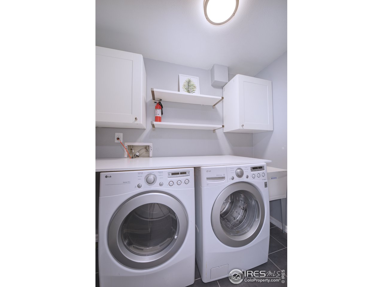 Spacious and functional laundry area