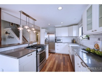 Gas stove, stainless steel appliances