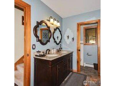 Double vanity in master bath