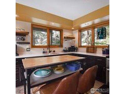 Gorgeous remodeled kitchen, slate floors