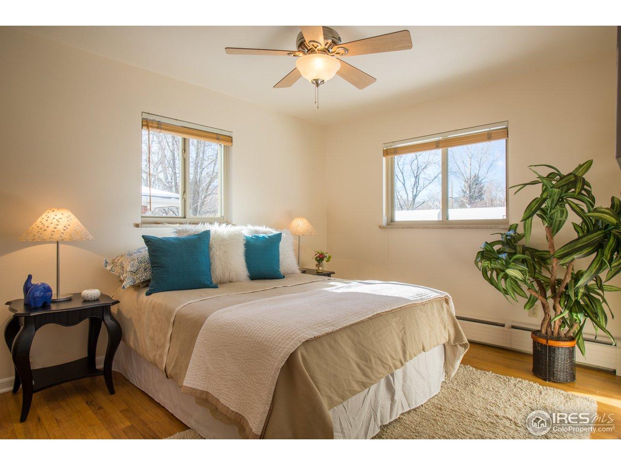 Master bedroom (main level)