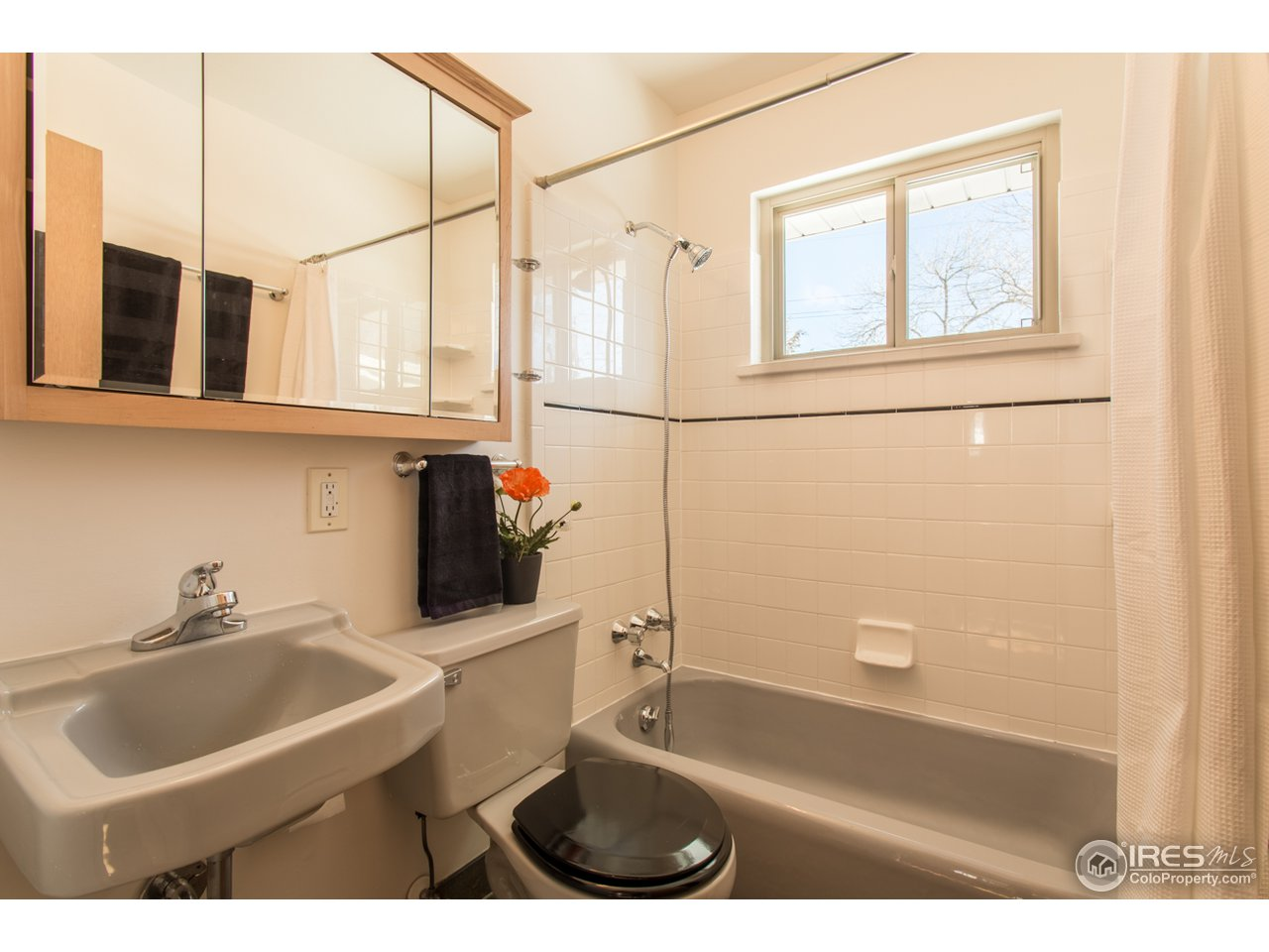 Shared master bath