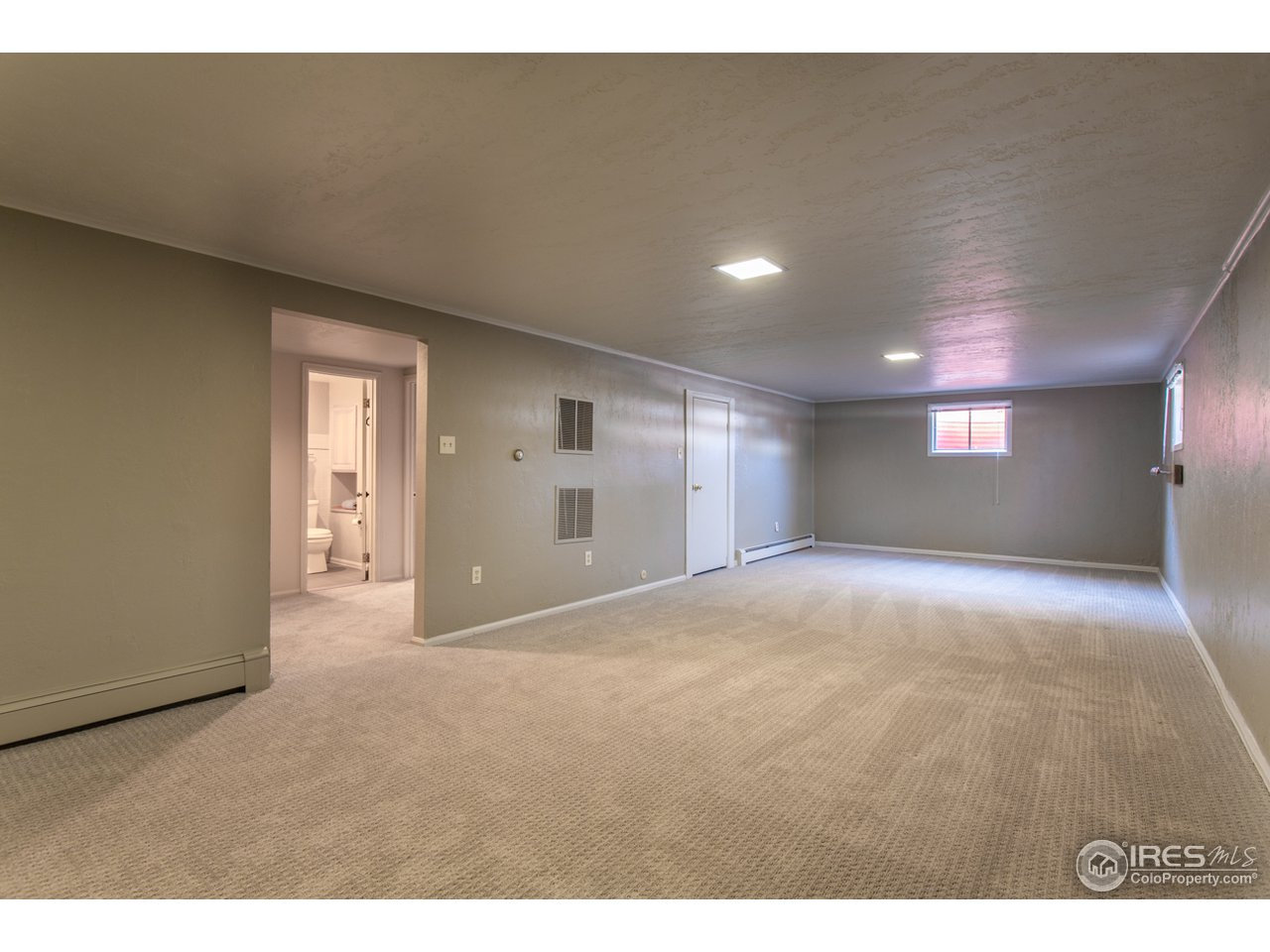 Large finished basement REC room, Family Room etc