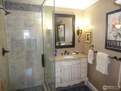 Ensuite Master Bath with European Style Shower