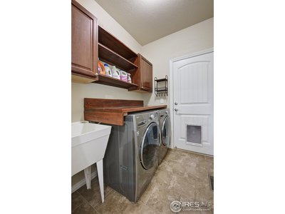 Laundry/mudroom area