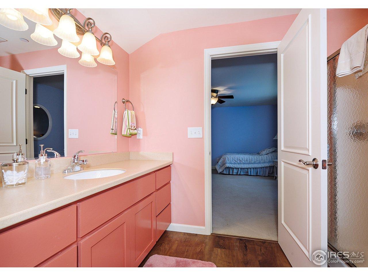 Family room area bath