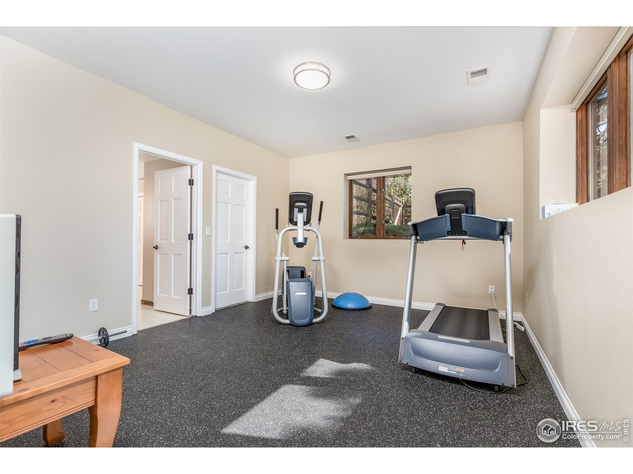 7th Bedroom used as Exercise Room