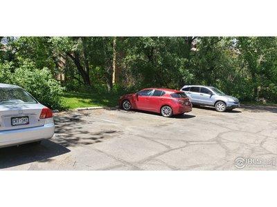Plenty of visitor parking