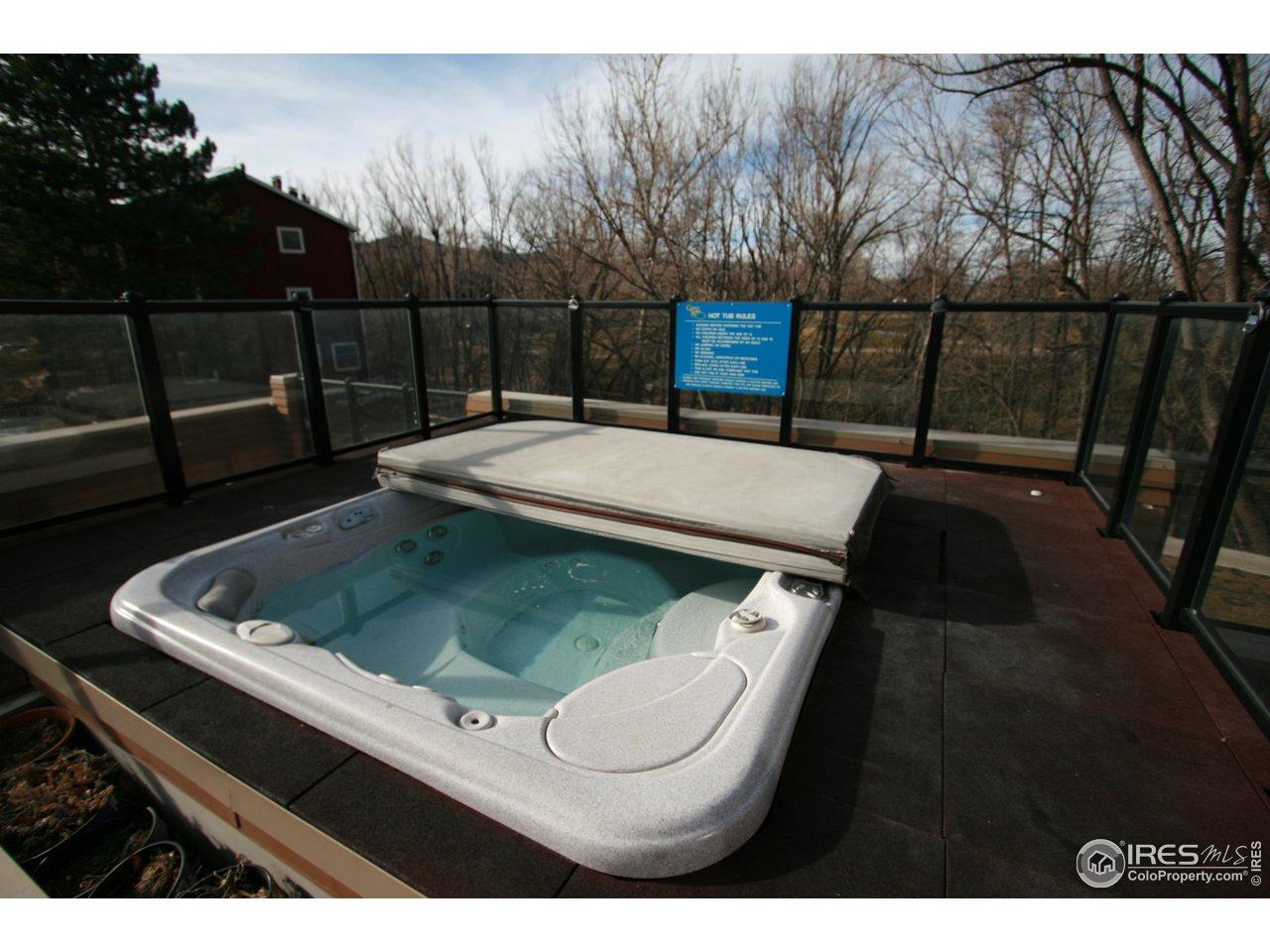 Outdoor Hot Tub