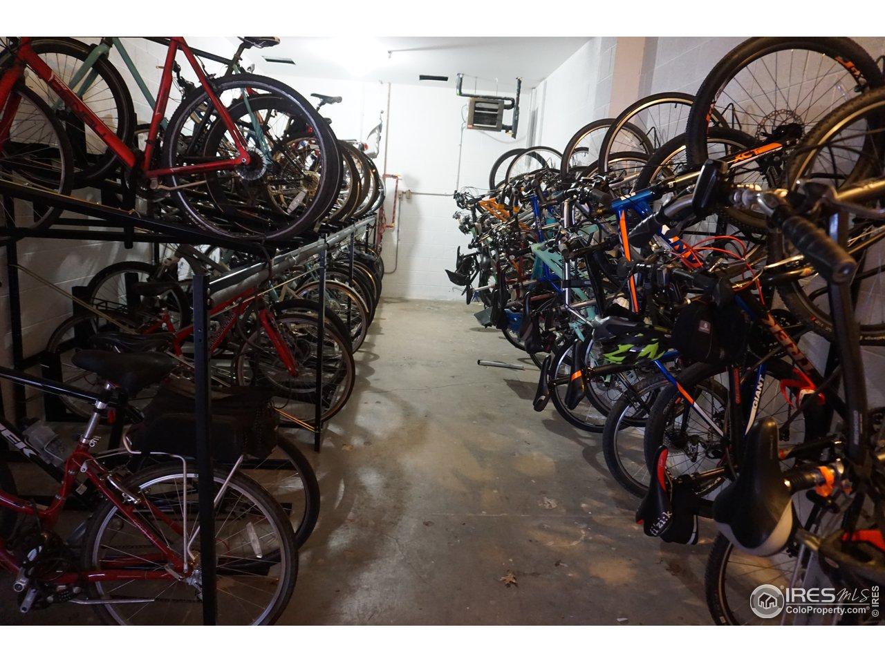 Secured Bike Storage