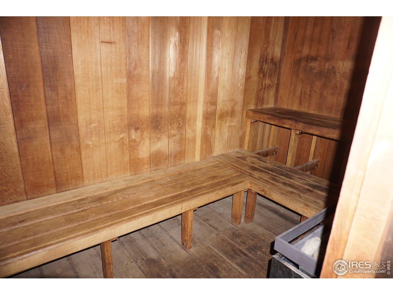 Working Sauna