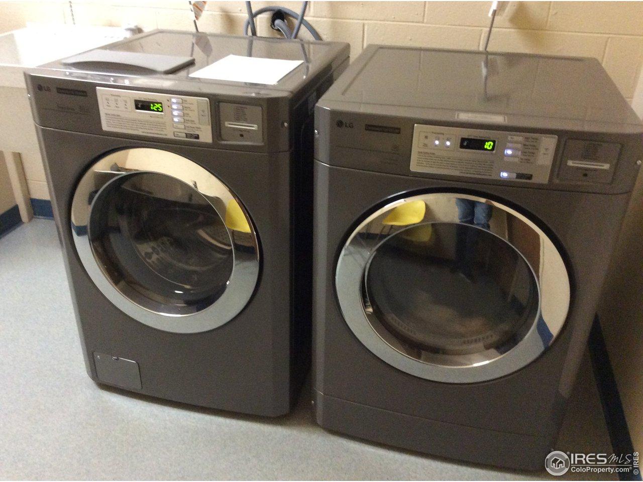 High-End Laundry on Each Floor