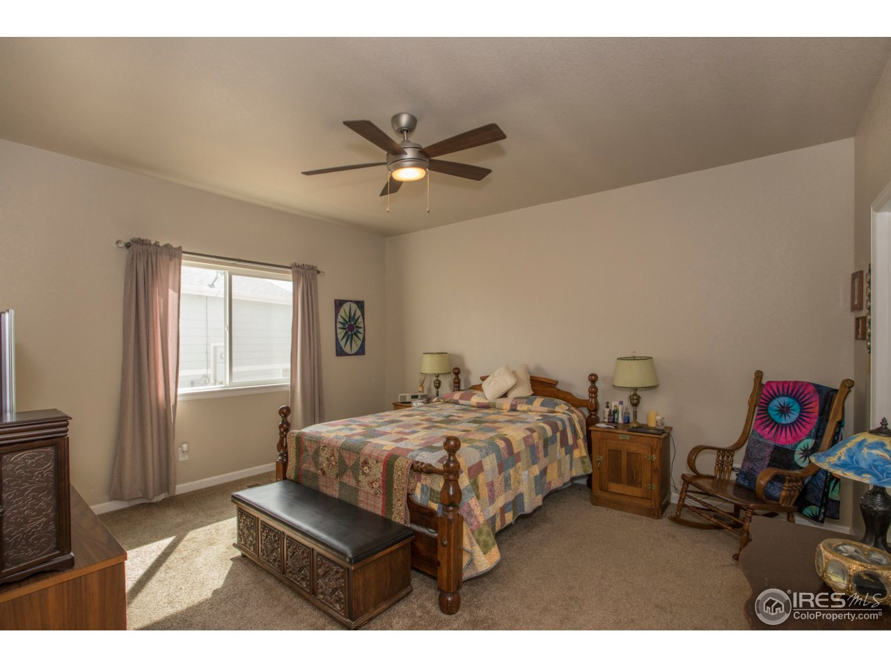 Extra large, private & secluded master suite