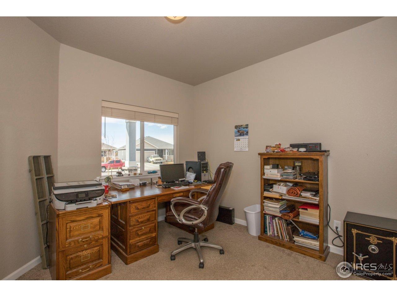 Make this a bedroom, office, studio, den . . .