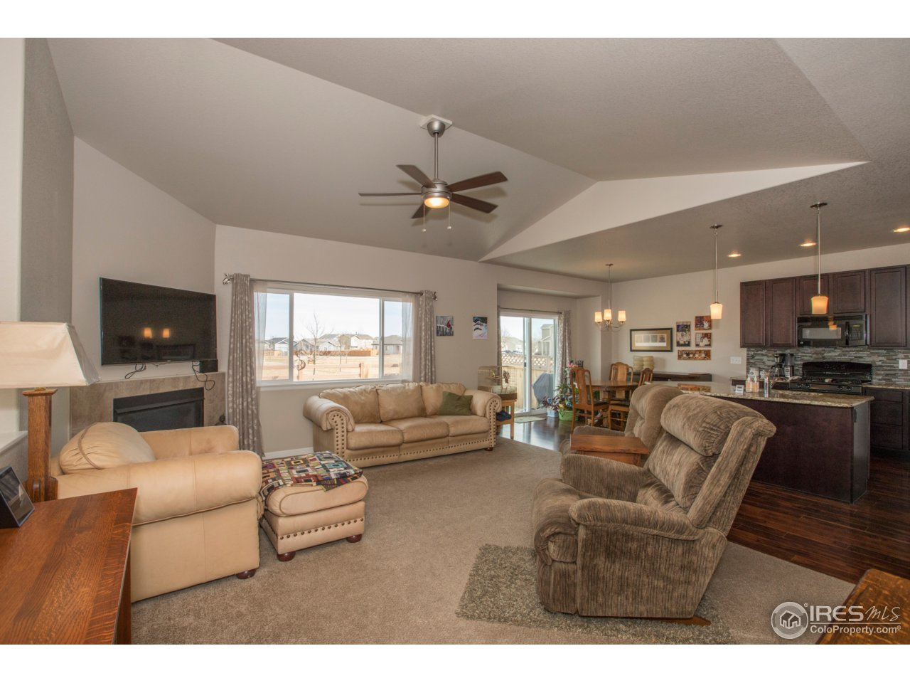 This is a really light, bright & open floor plan