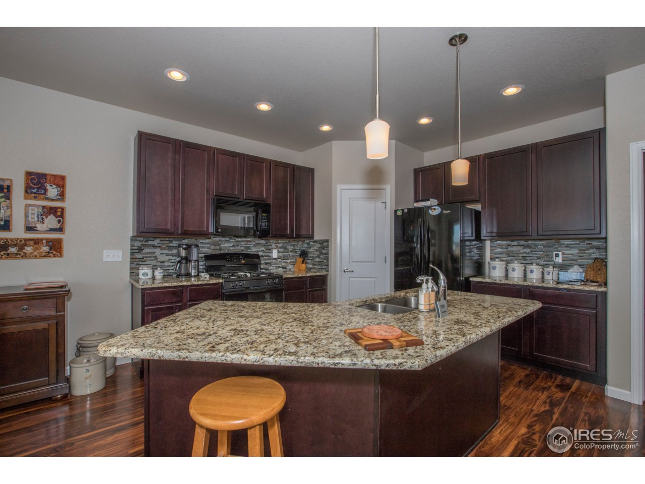 Generously sized kitchen for the gatherings