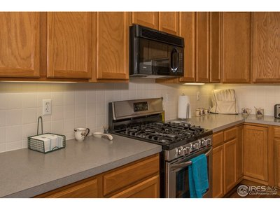 Direct vent gas stove & oven