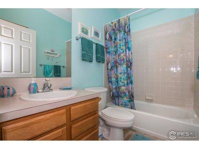 Ceramic slate tiled bathrooms