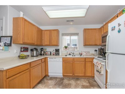 Kitchen offers good counter space