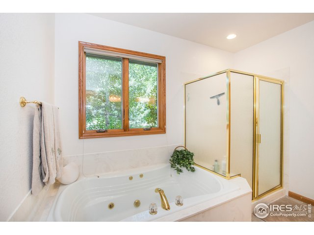 Super sized jetted tub & shower