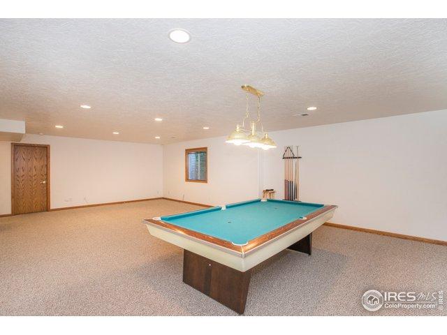 It's a bright & sunny basement to enjoy