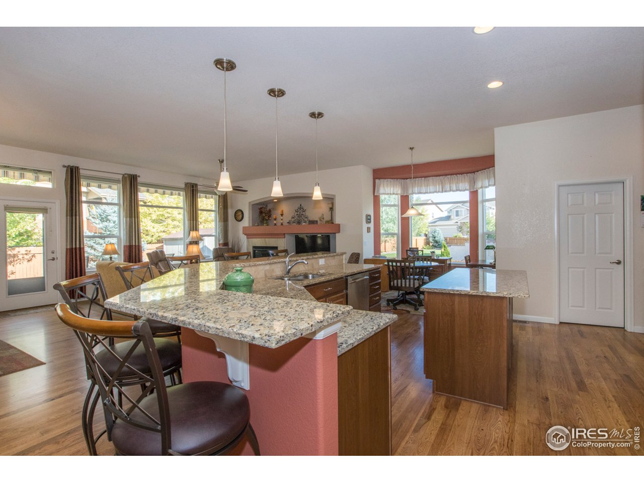 Notice the size of this kitchen