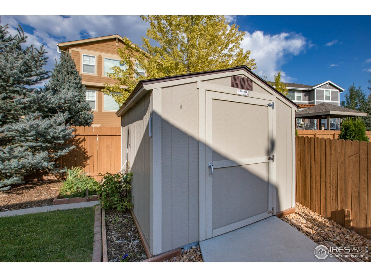 10 x 8 Tuff Shed on a foundation