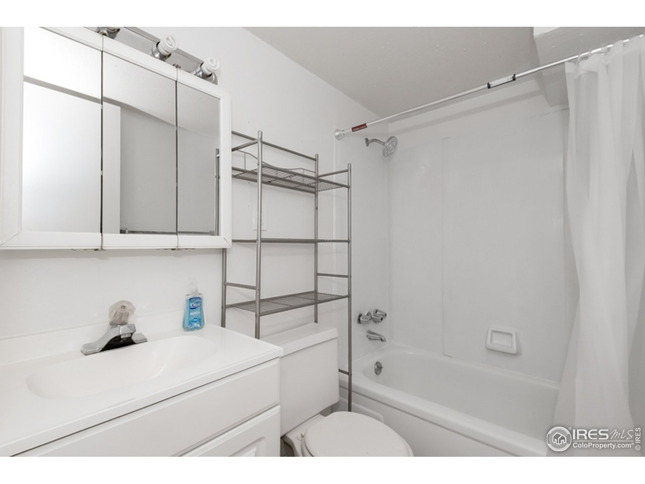 The basement bathroom