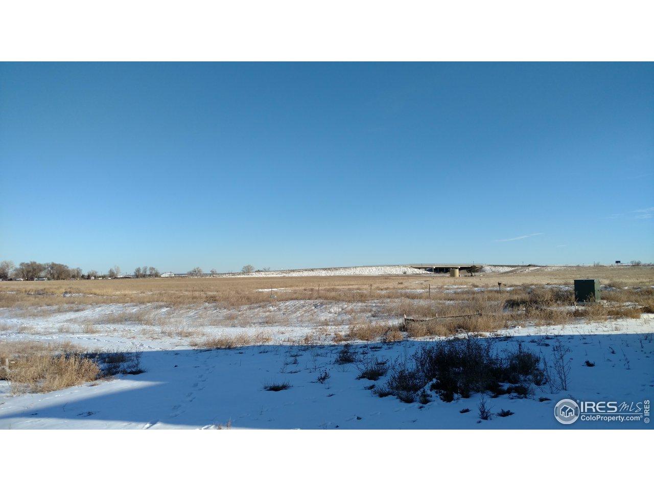 SE view toward Hwy 85