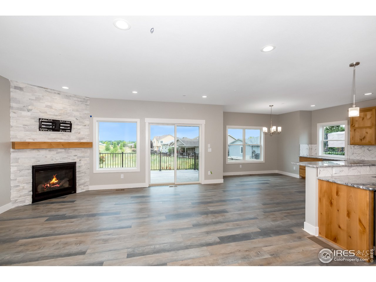 This is an example of Benchmark Homes' finishes from another model