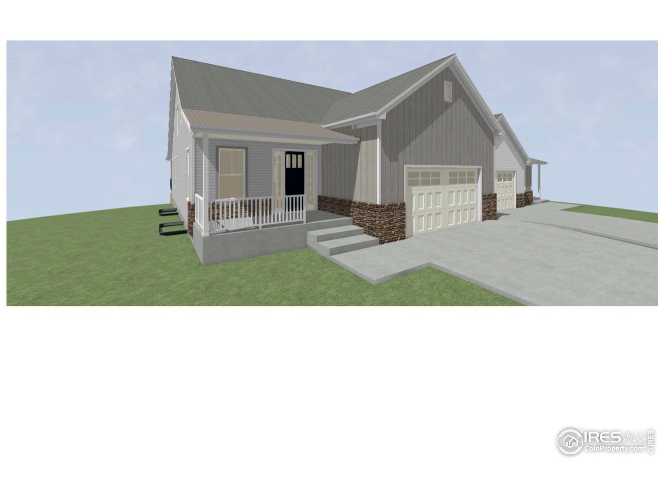 An example elevation of homes to be built
